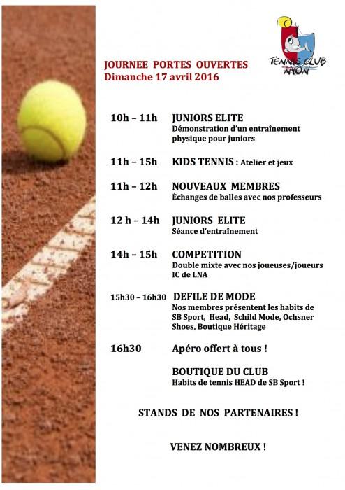 Poster tennis club