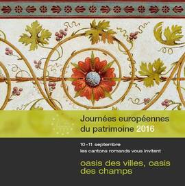 Heritage Weekend/ Jazz in Prangins 16 and 17 September/ Desalpe in St-Cergue 24 September
