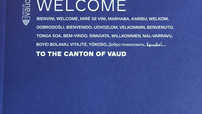 """Welcome to the Canton of Vaud"" brochure now in 13 languages"