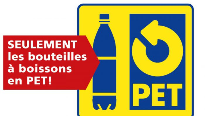 Check it's P.E.T. ! Appeal from Nyon council for better recycling