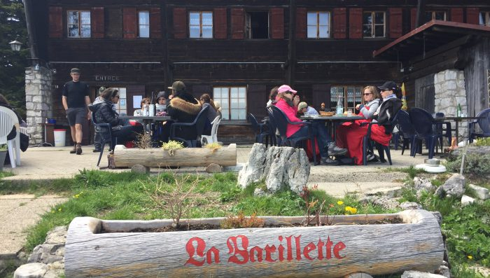 Idea for trips out near Nyon Summer 2017 – Barillette Café/ Restaurant now open