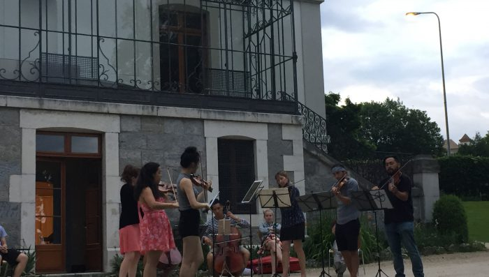 Final Free Concert in Nyon on Wed 7th by visiting musicians from Caroga Lake Music Festival