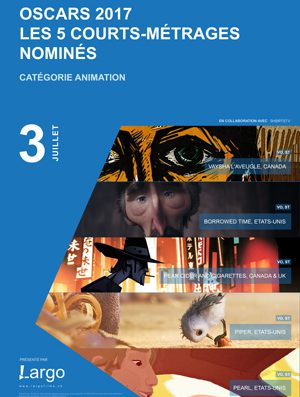 Oscar nominated shorts screened on Monday 3rd July in Nyon