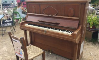 Free music at the Fête de la Musique/ Pianos back in town/Voluntary work on Saturday