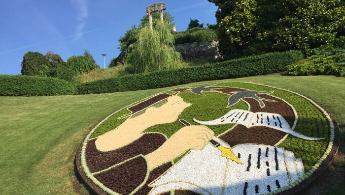 New Floral Mosaic for Nyon 2017