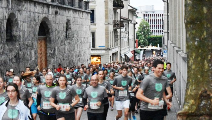 Wake up and Run – Early morning 5 km run in Nyon in September