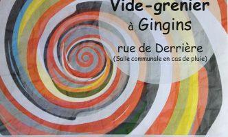 Vide-Grenier (yard/car boot sale) in Gingins – 2 September  Buy or Sell!