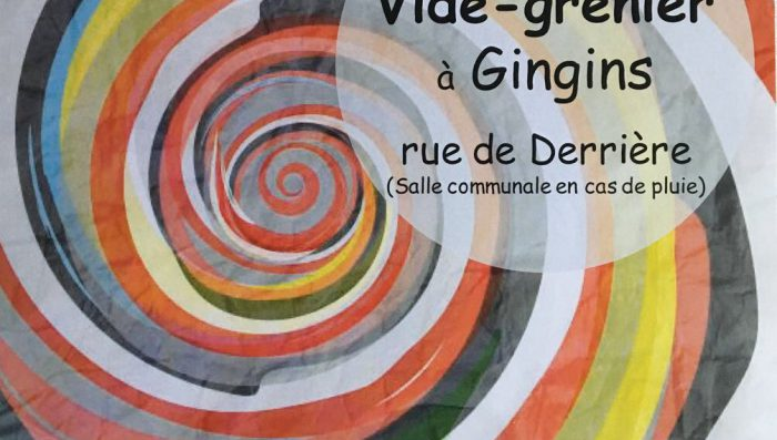 Vide-Grenier (yard/car boot sale) in Gingins – 2 September  Buy or Sell!