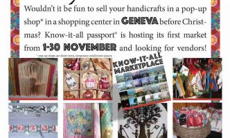 Pop-up-Shop seeking Vendors – Great opportunity to sell your handicrafts!