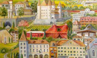 Art Exhibition in Nyon – Local artist Rita Mancesti celebrates 30 years of work