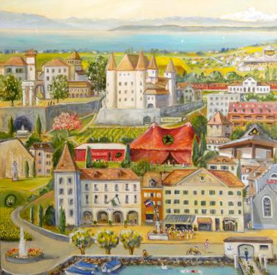 Art Exhibition in Nyon – Local artist Rita Mancesti celebrates 30 years of work