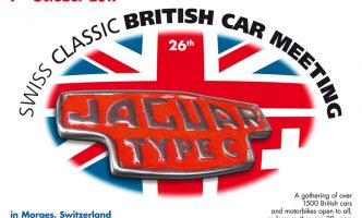 Classic British Car Meeting 7th October in Morges