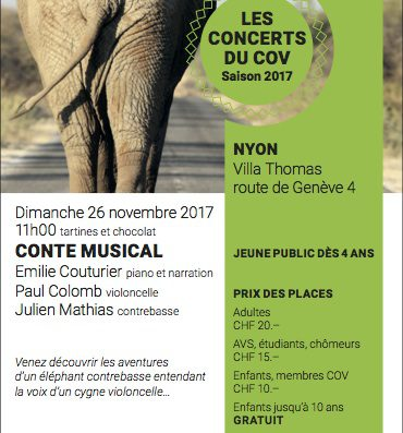 Classical concert for young children – Sunday 26th November at 11:00