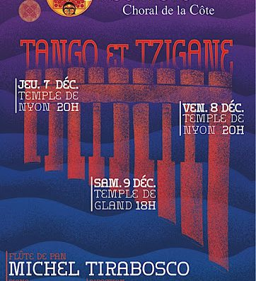 The Sounds of Tango and Tzigane – Concerts in Nyon and Gland