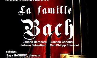 Classical concert – Bach at Nyon Temple, Friday 17 November 2017