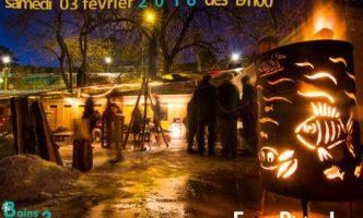 Full Moon Fondue Party by Nyon lakeside – Saturday 3rd February