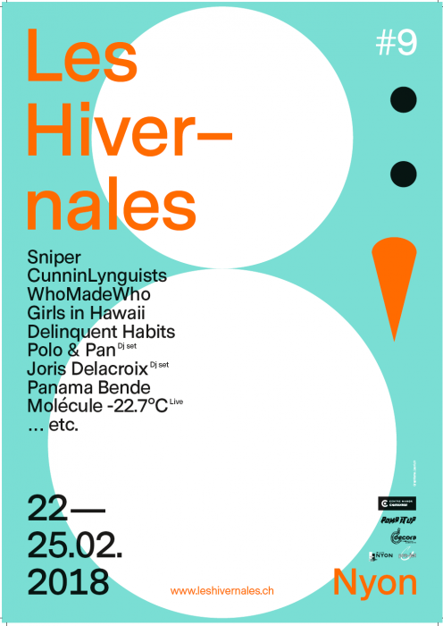 Les Hivernales – Nyon's Winter Rock festival begins  22nd February