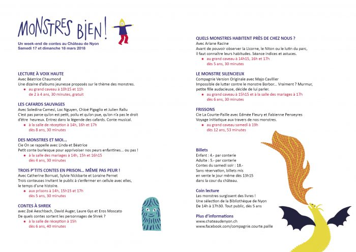 Monstres Bien A Weekend Of Storytelling At The Château Of