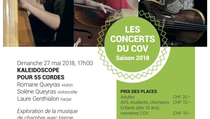 Classical Music Concert in Nyon – Sunday afternoon 27 May
