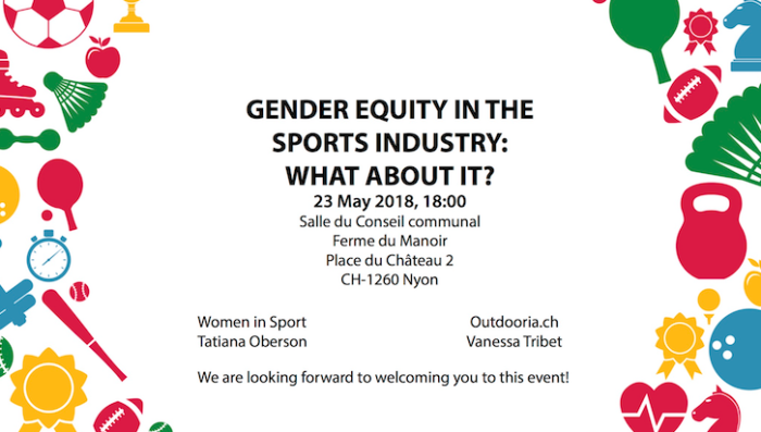 Gender Equity in the Sports Industry – Conference in English in Nyon