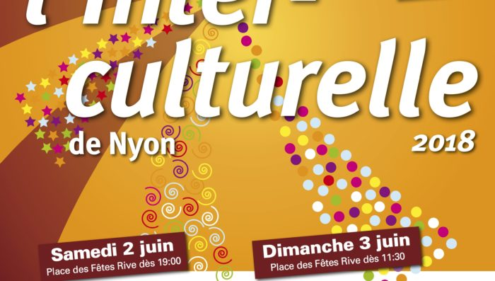 Intercultural weekend – Saturday 2nd and Sunday 3rd June in Nyon