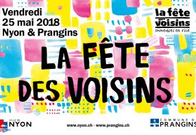 Neighbours Day in Nyon and Prangins 25 May