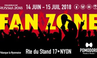 Fan zone in Nyon to watch World Cup 2018
