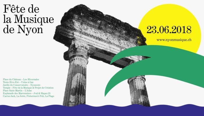 Fête de la Musique in Nyon – Music for all – Sat 23rd June