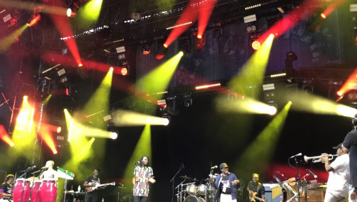 Rain, Reggae and Rainbows – Friday at Paléo