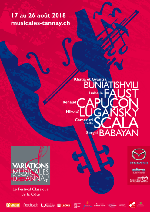 Classical Music Festival 17-26 August in Tannay - Living in Nyon