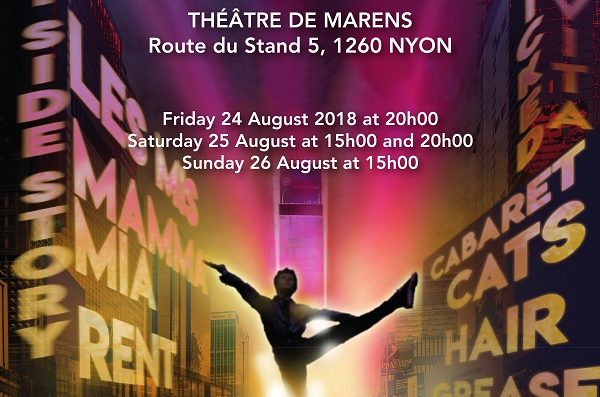 """Best of Broadway"" in English in Nyon this weekend"