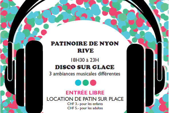 Outdoor Skating Rink opens in Nyon Saturday 20th October