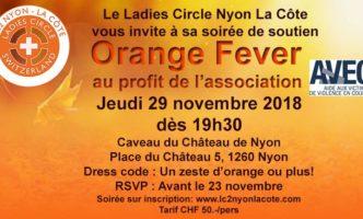 Cocktail Dînatoire in the cave of Nyon's Château – 29 November