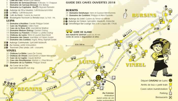 Open wine cellars this weekend in villages near Nyon -Try the Bourru!