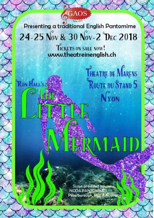 Traditional Pantomime in English in Nyon – Family Entertainment