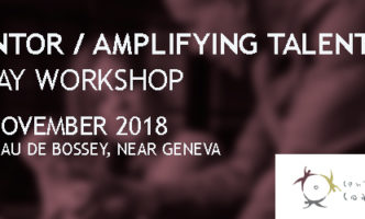 Mentoring Workshop – 20th November 2018 Château de Bossey
