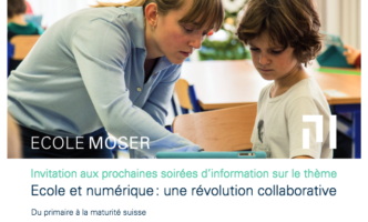 Discover the Digital Teaching methods at Ecole Moser in Nyon – Two Info Evenings