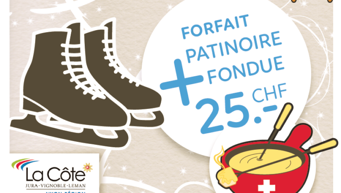 A Fondue and Ice Skating for just CHF 25!