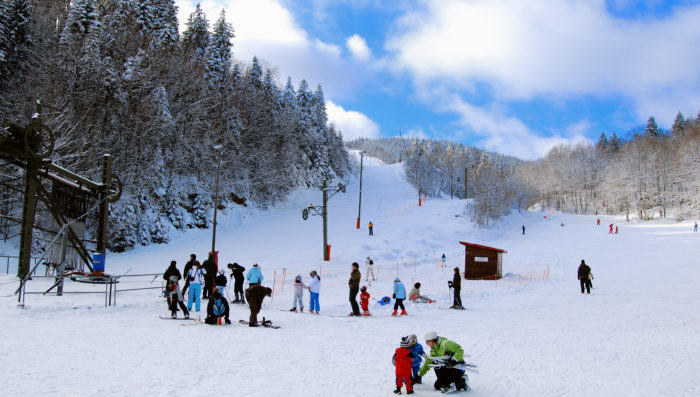 Ski Slopes in St-Cergue open Sat 18th Jan. Night skiing Thurs-Sat