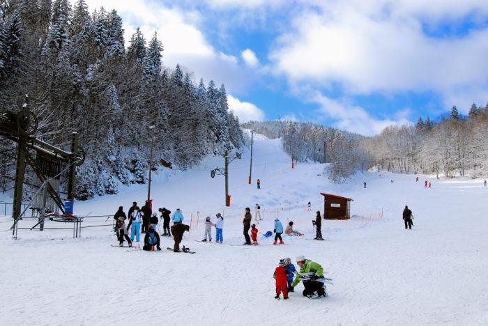 Ski Slopes in St-Cergue open Sat 18th Jan. Night skiing Thurs-Sat
