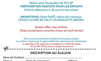 Children's Festival – 3rd Feb in St-Cergue