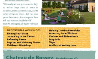 Inspired Writing Retreat: 23rd -24th March