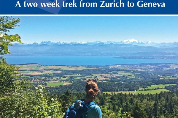 """Toblerone"" Walk near Nyon featured in UK guide book"