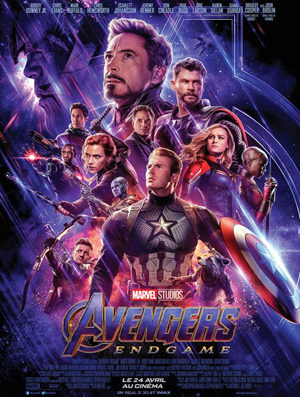 """Avengers – End Game"" – film in English in Nyon"