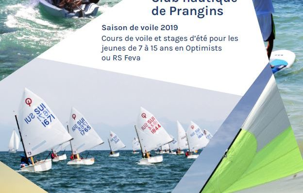 Sailing Courses for Children and Teenagers in Prangins begin in May