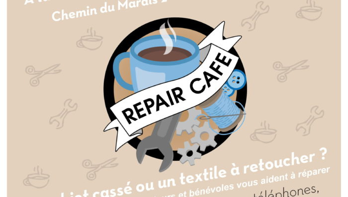 Repair Café in Nyon – Saturday 6th April