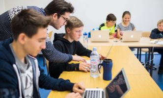 April Coding Camps in Lausanne and Geneva for children and teenagers