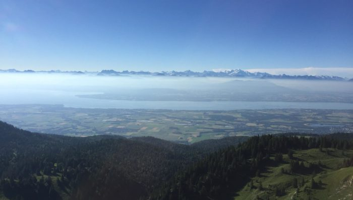 Keeping cool in La Dôle – Suggested walk in the hills near Nyon