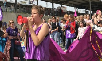 Photos and Videos of Women's Strike in Nyon – Friday 14th June