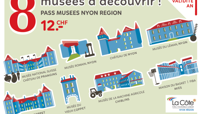 Eight museums for just CHF 12 in the Nyon region